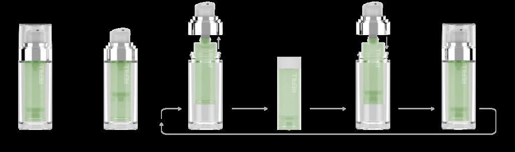 Airglass Slim Refill concept