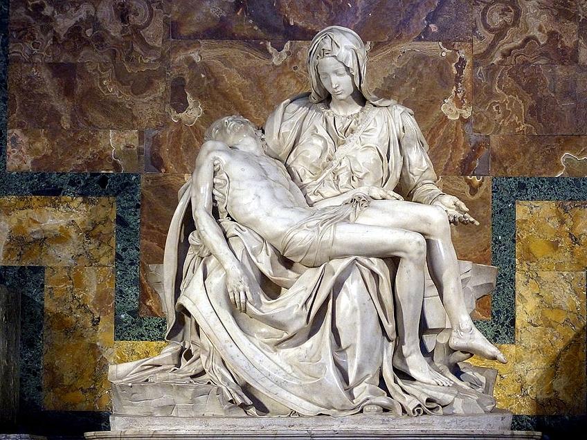 Michelangelo Pietà - Analysing Michelangelo's Vatican Pietà Statue