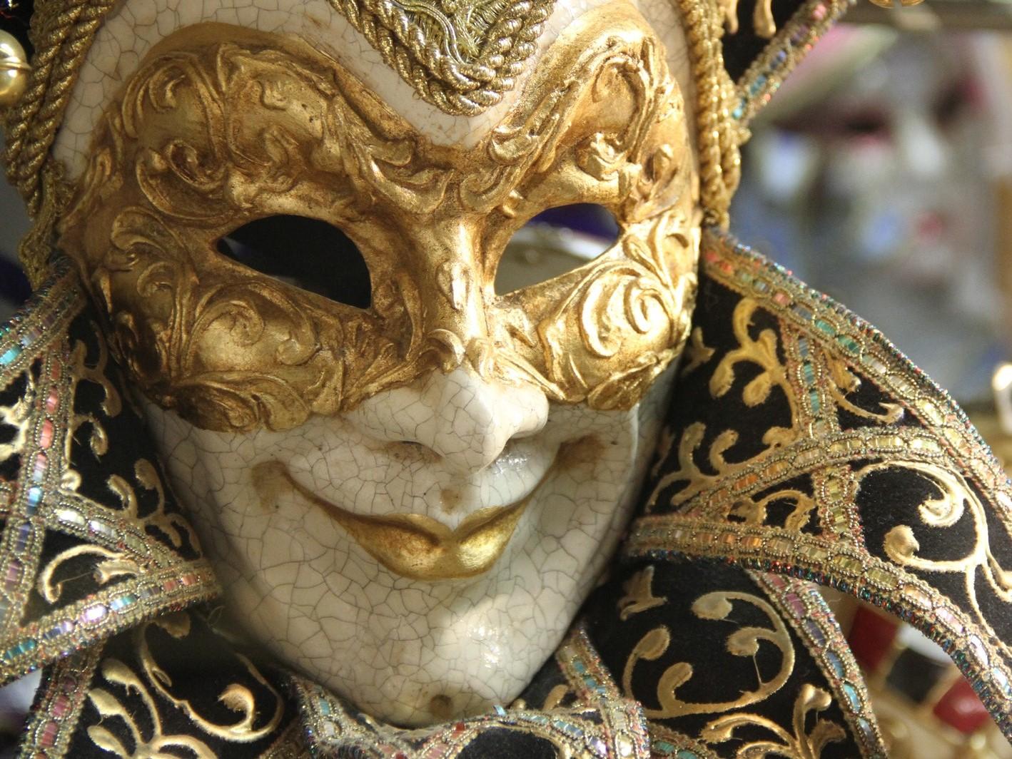 Humors Venetian Masks Comedy
