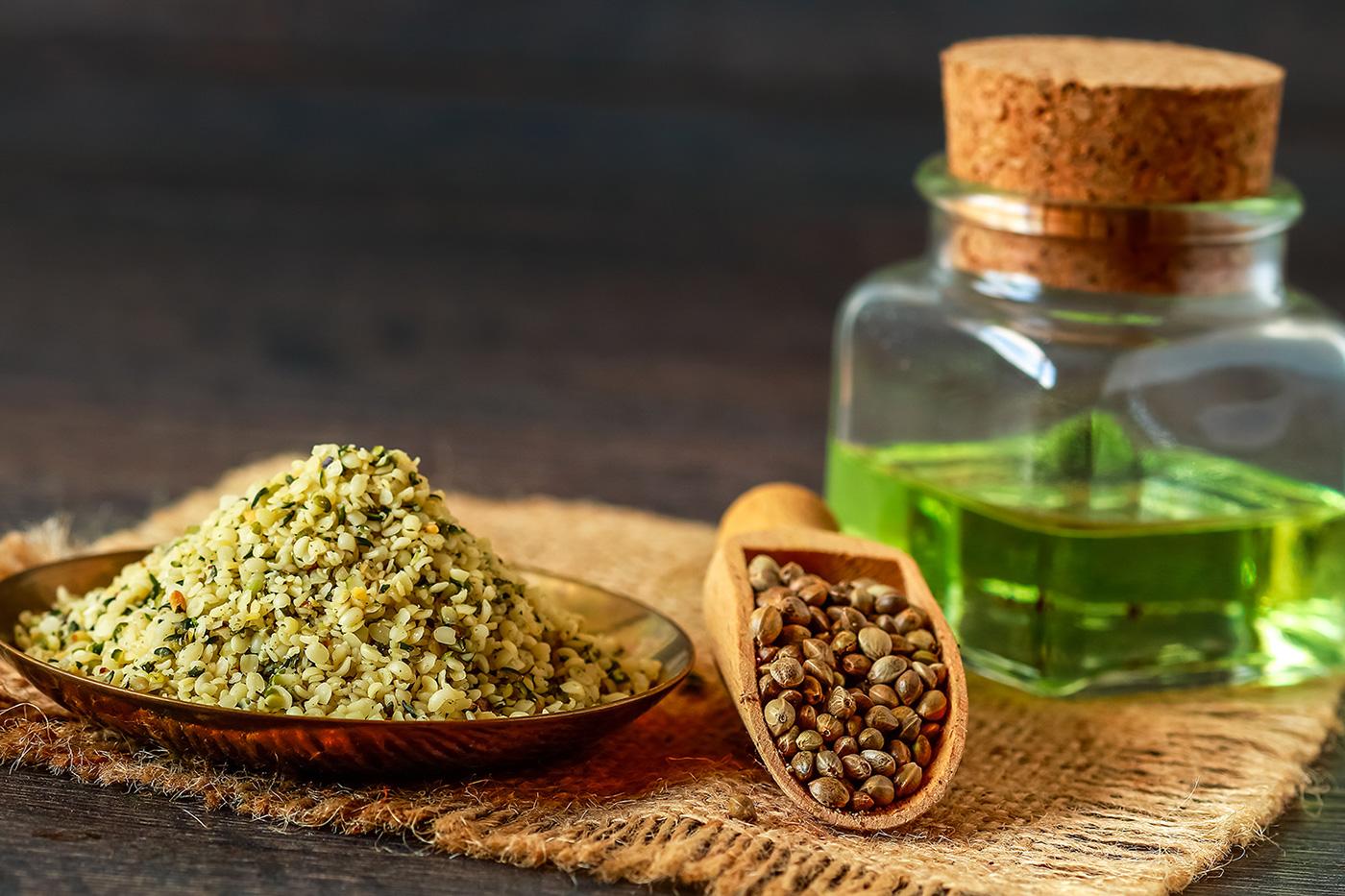 benefici dell'olio di semi di canapa