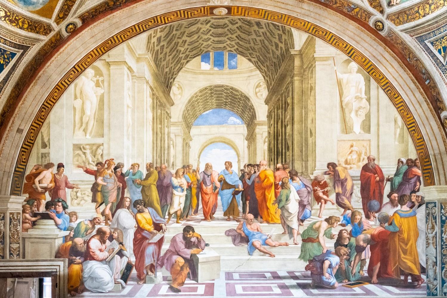 The School of Athens Imperium Est