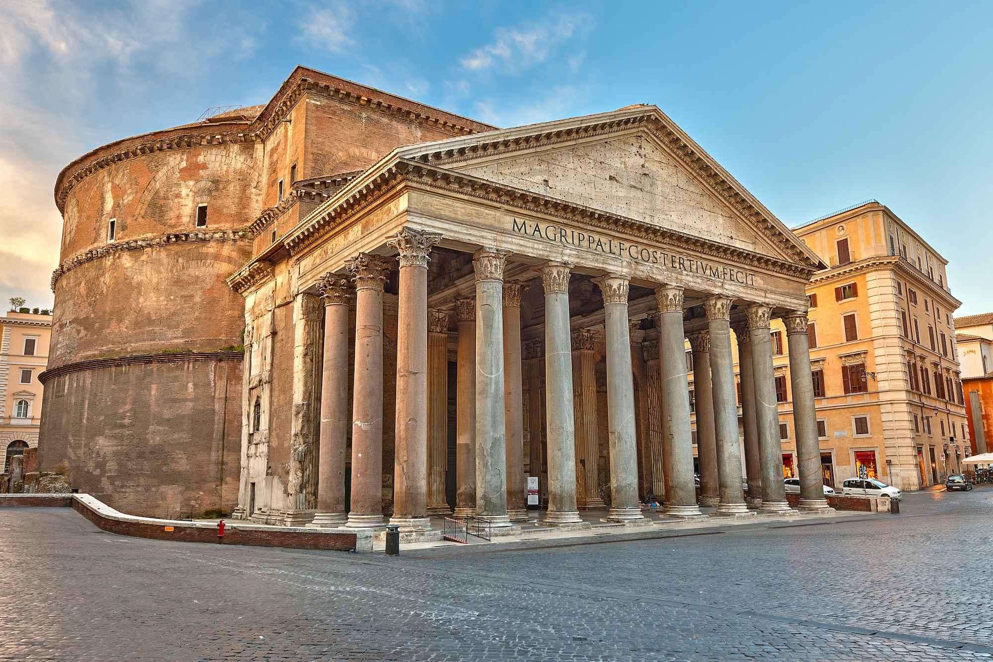 The Pantheon in Rome Imperium Est
